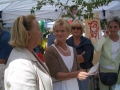 Tag der Rose 2007 in Ulm - Informationsaustausch
