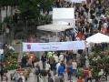 Blick auf den Tag der Rose 2008 in Ulm