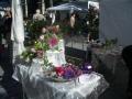 Blumendekoration bei Tag der Rose in Ulm 2010